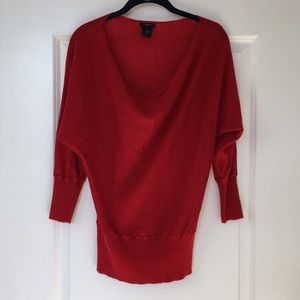 Ann Taylor Red Sweater